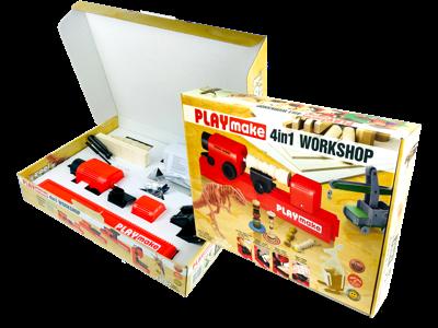 PLAYMAT — это полноценный комплект оборудования для работы с деревом
